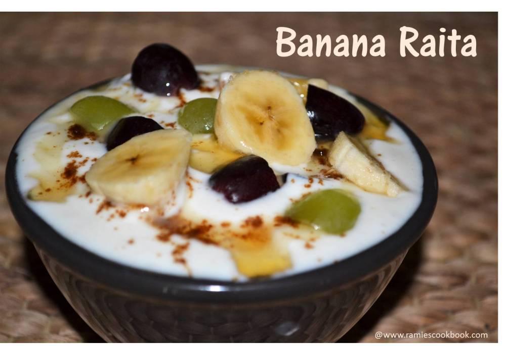 Banana Raita new