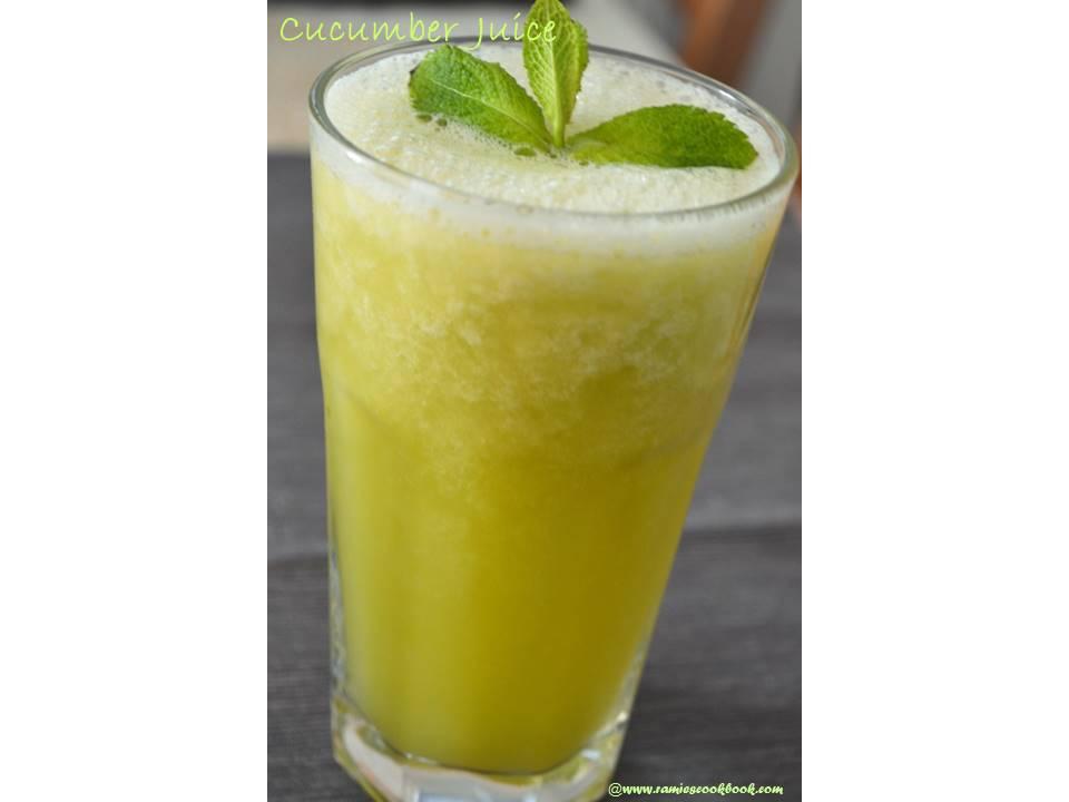 Cucumber juice 1a