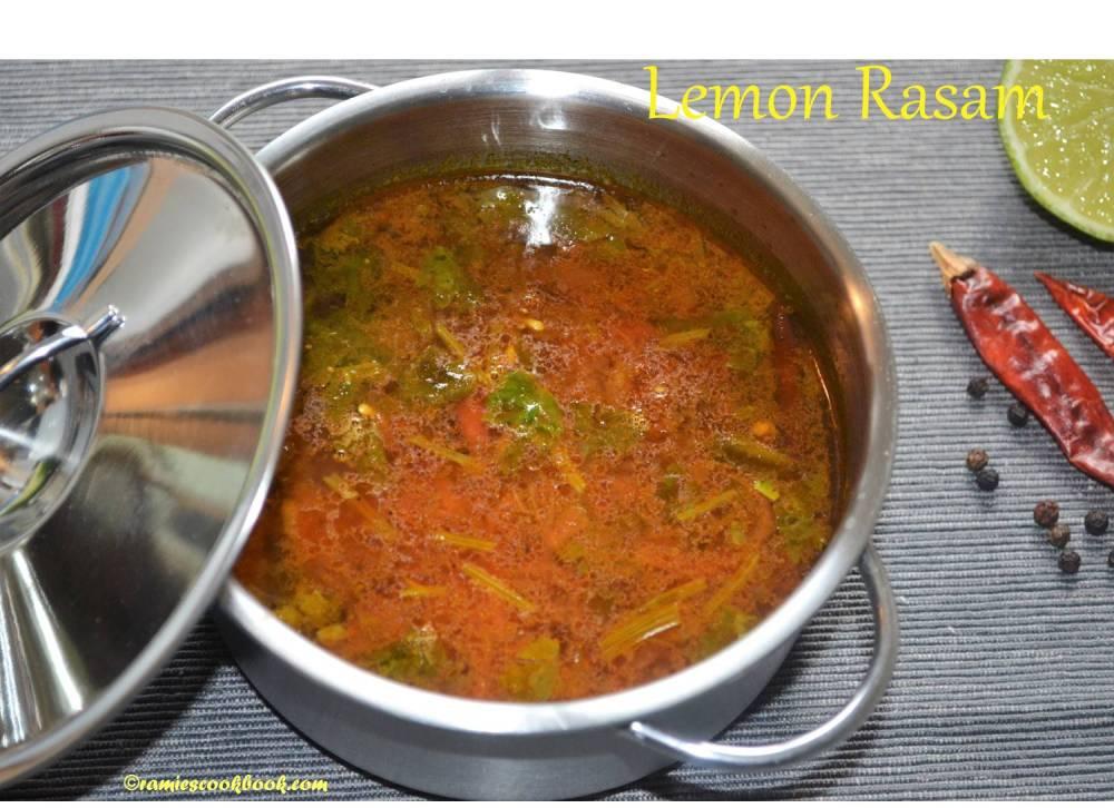 Lemon Rasam 2