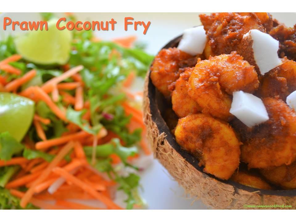 Prawn coconut fry 2