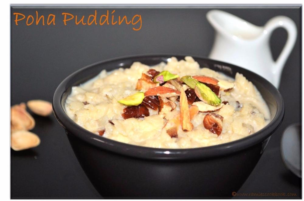 Poha pudding 1 a