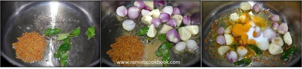 Omam Kulambu (Ajwain curry) a