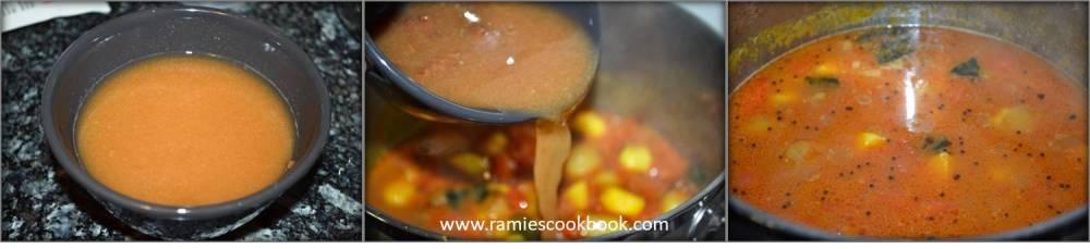 Omam Kulambu (Ajwain curry) c