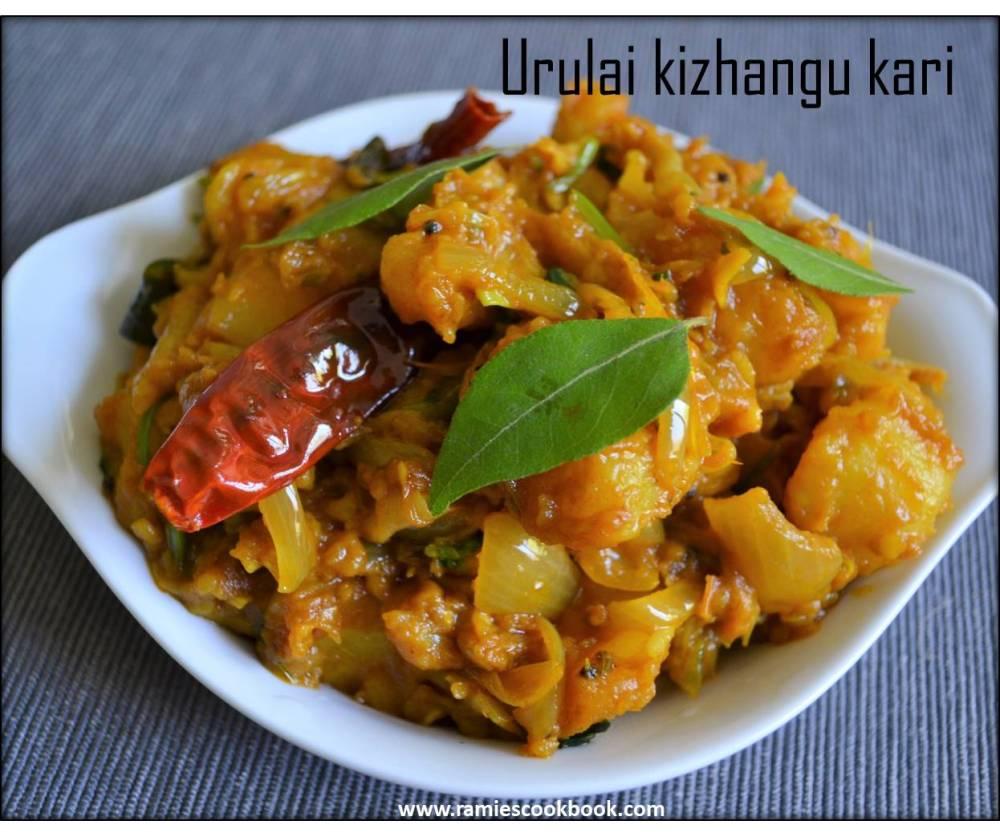 Potato dry curry 2a